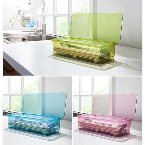 aiyoo Küche Schublade Organizer Besteck Tablett mit Deckel und Sieb ...