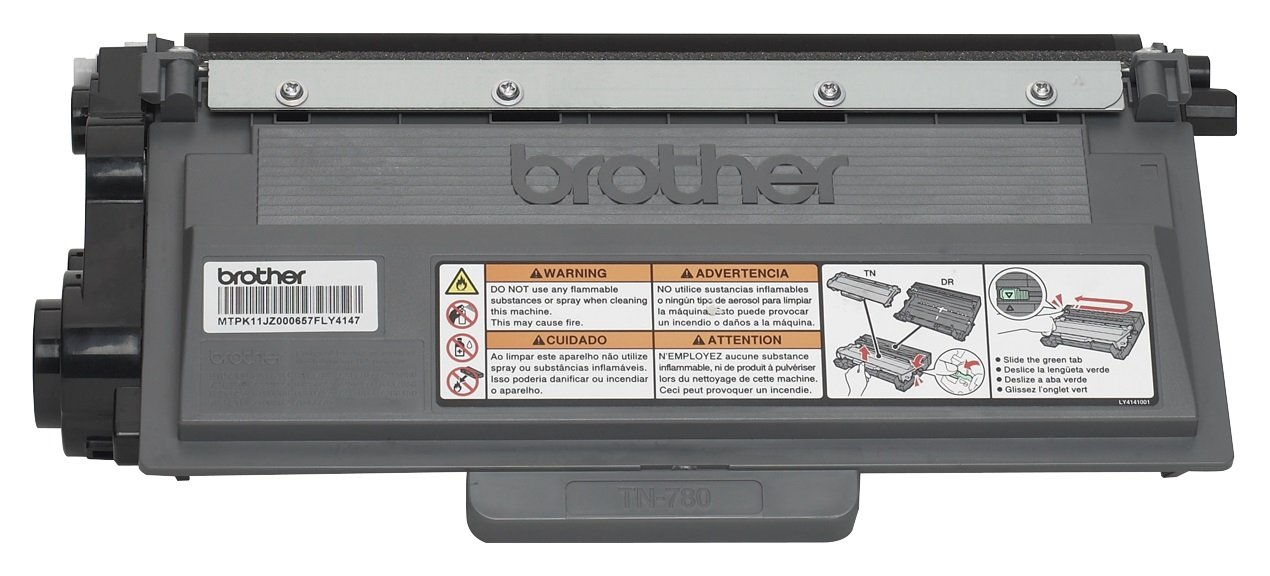 Brother Genuine TN780 Super High Yield Mono Laser Toner Cartridge