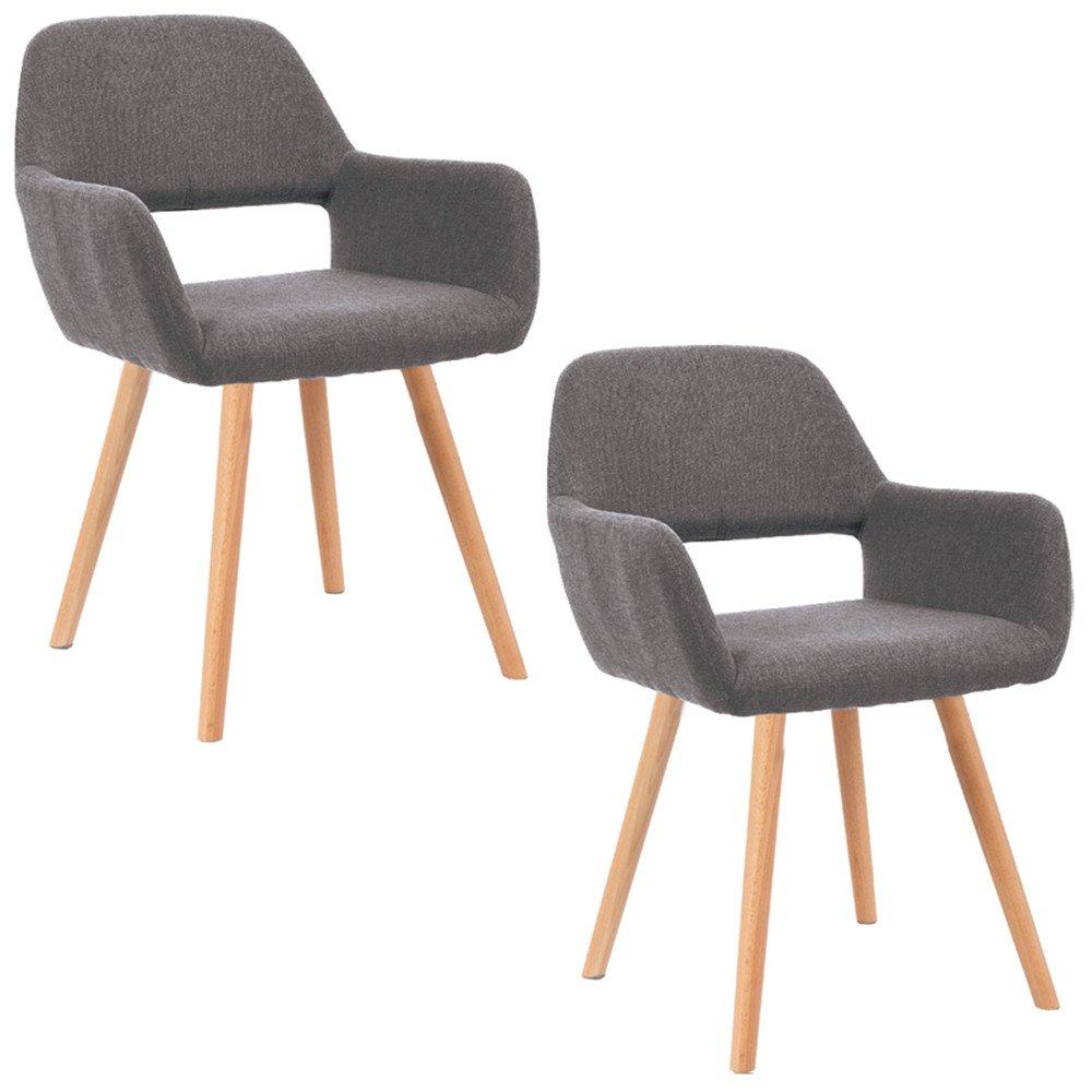 MCTECH® 2x Stuhl Esszimmerstühle Esszimmerstuhl Stuhlgruppe ...