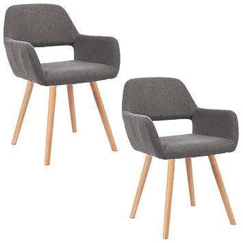 Esszimmerstühle Mit Armlehne mctech 2x stuhl esszimmerstühle esszimmerstuhl stuhlgruppe