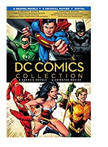 DC Comics Collection - 6 Graphic NOvels, + 6 Animated movies (digital copy) [Blu-ray] [Import]