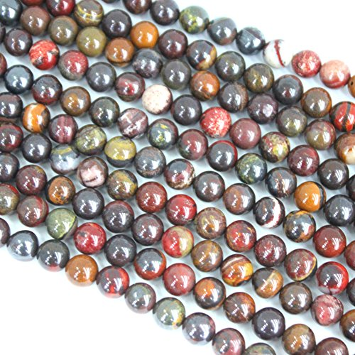 er Round for Necklace Gemstone Loose Beads (8mm) ()