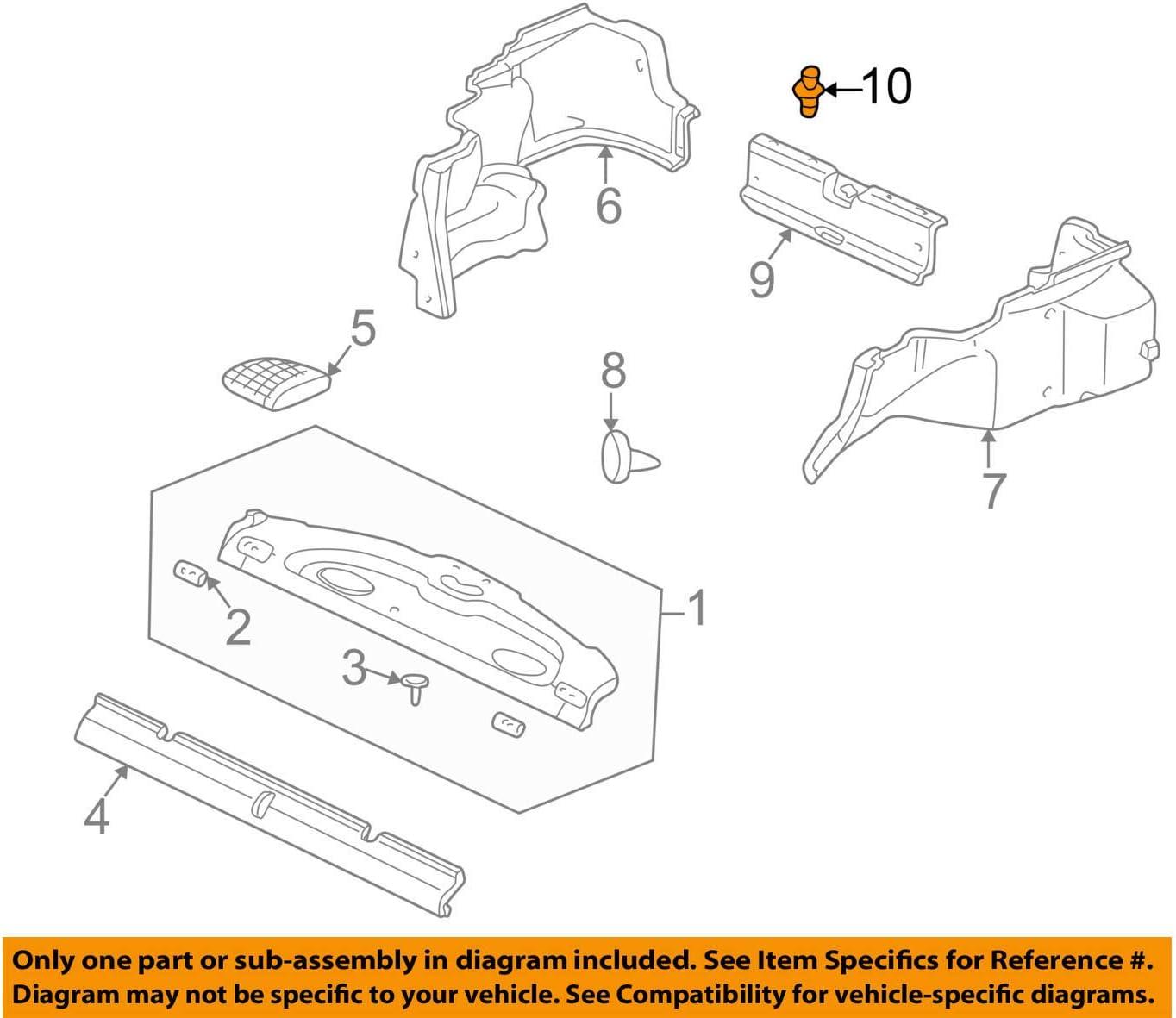 HONDA CR-V S2000 Door Panel Retainers Clips Honda # 91505-ST7-003ZA