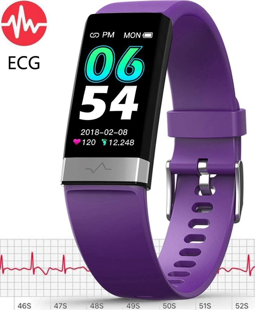 MorePro ECG Monitor Watch with Heart Rate Blood Pressure Monitor