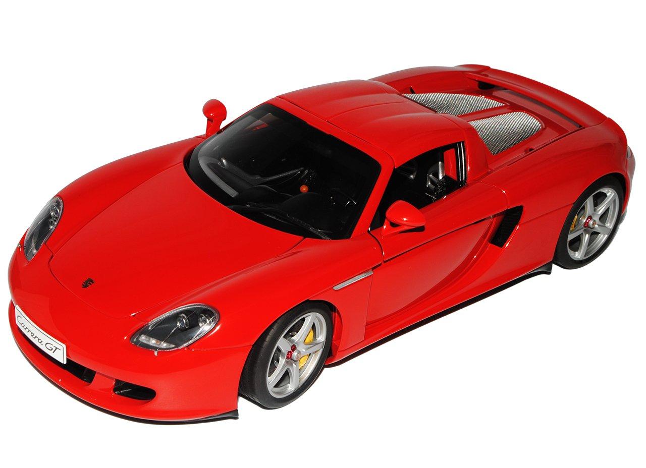 AUTOart Porsche Carrera GT Coupe Rot 2003-2006 78044 1 18 Modell Auto mit individiuellem Wunschkennzeichen  Mit Wunschkennzeichen