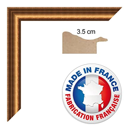 photo Frame 30 x 30 x 42/42 Traditional Gold Frame, 3.5 cm Wide ...