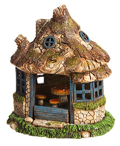Solar Lighted Fairy House