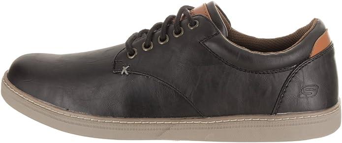 dar a entender infierno Telemacos  Skechers Lifestyle 65272 Men's Helmer Steven Shoe, Black