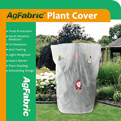 Frost Snowman - Agfabric Decorative Warm Worth Frost Blanket - 0.95 oz Fabric of 32