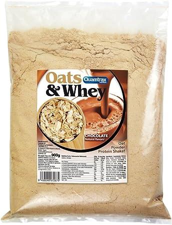 Oats & Whey (Avena con proteína) 900 g - Strawberry: Amazon ...