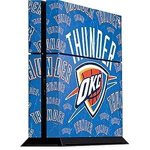 Oklahoma City Thunder PS4 Console Skin - Oklahoma City Thunder Blast | NBA X Skinit Skin