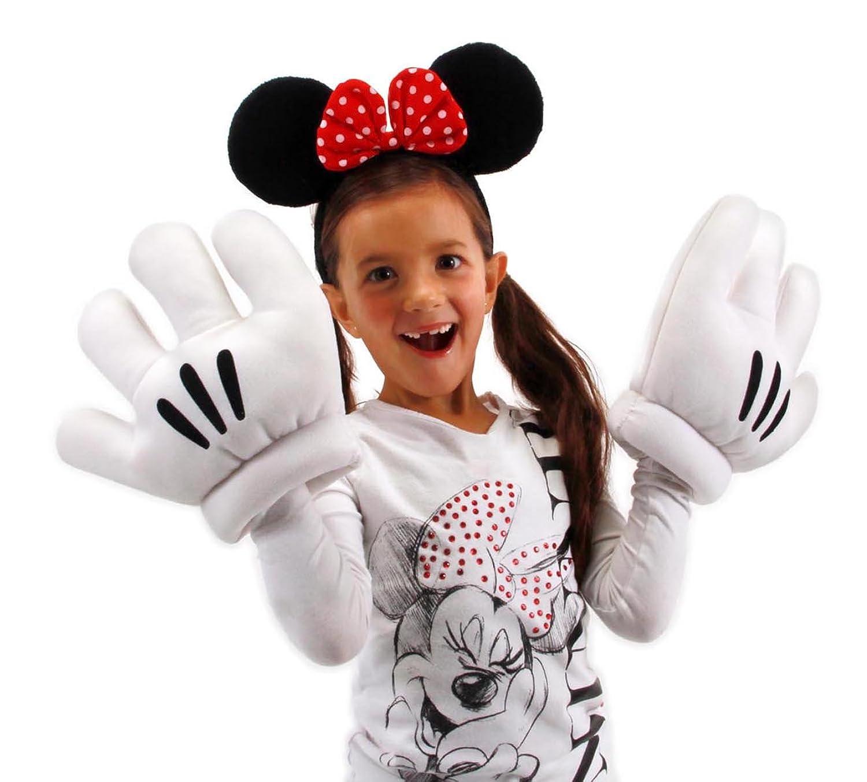 sc 1 st  Amazon.com & Amazon.com: elope Disneyu0027s Minnie Mouse Ears u0026 Gloves Set: Clothing
