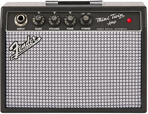 - Fender Mini '65 Twin Amp - Miniature Electric Guitar Amplifier