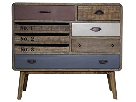 Credenza Vintage Da Cucina : Antyki24 vintage credenza cabinet cassettiera in legno stile retrò