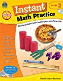 Instant Math Practice Grade 2, Teacher Created Resources Staff, 1420626108