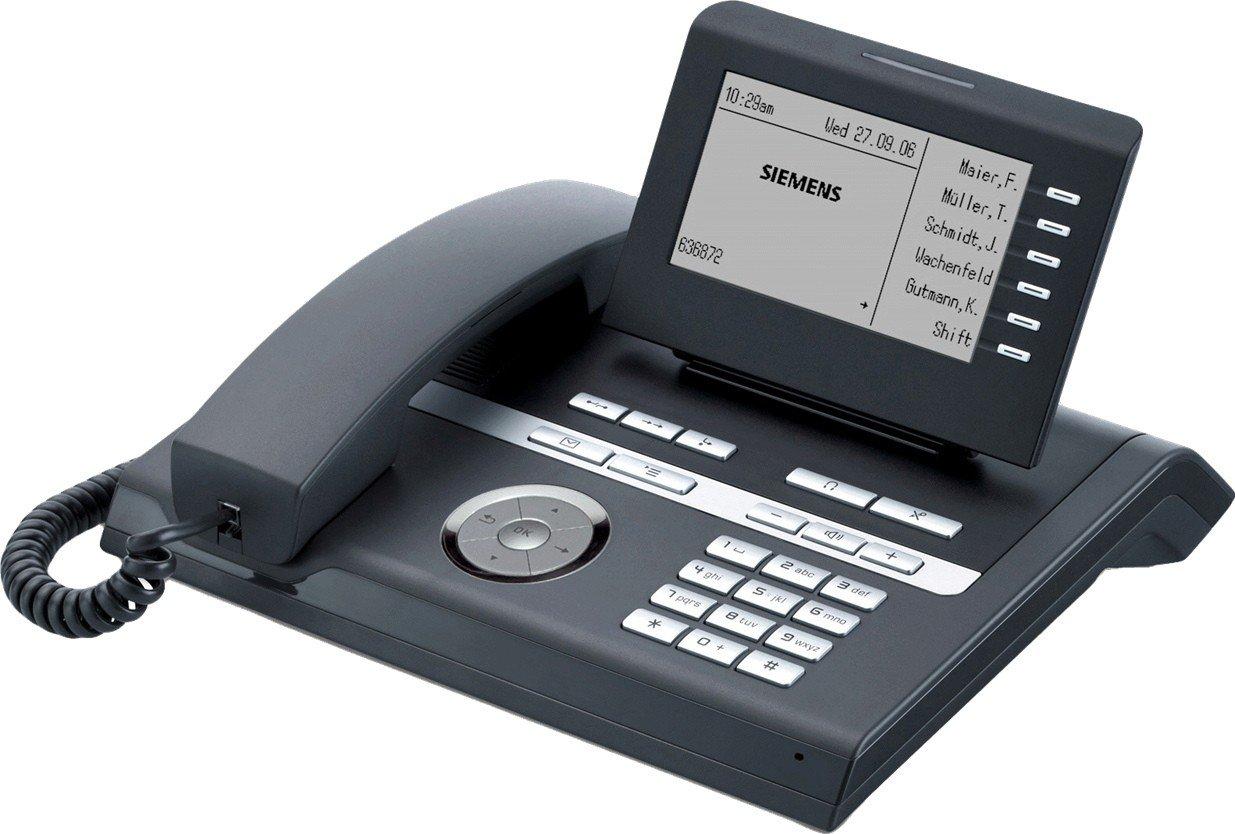 IP-Systemtelefon Telefon Siemens Unify OpenStage 40 SIP Ice Blue OVP