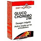 Diet horizon - Gluco chondro 2700 - 60 comprimés - Fort dosage pour des articulations mobiles
