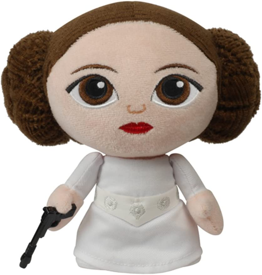 Star Wars Peluche Fabrikations Princess Leia 14 cm: Amazon.es ...