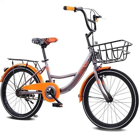 LEZI Niña de la Bicicleta de los niños y niño, 20-Pulgadas ...
