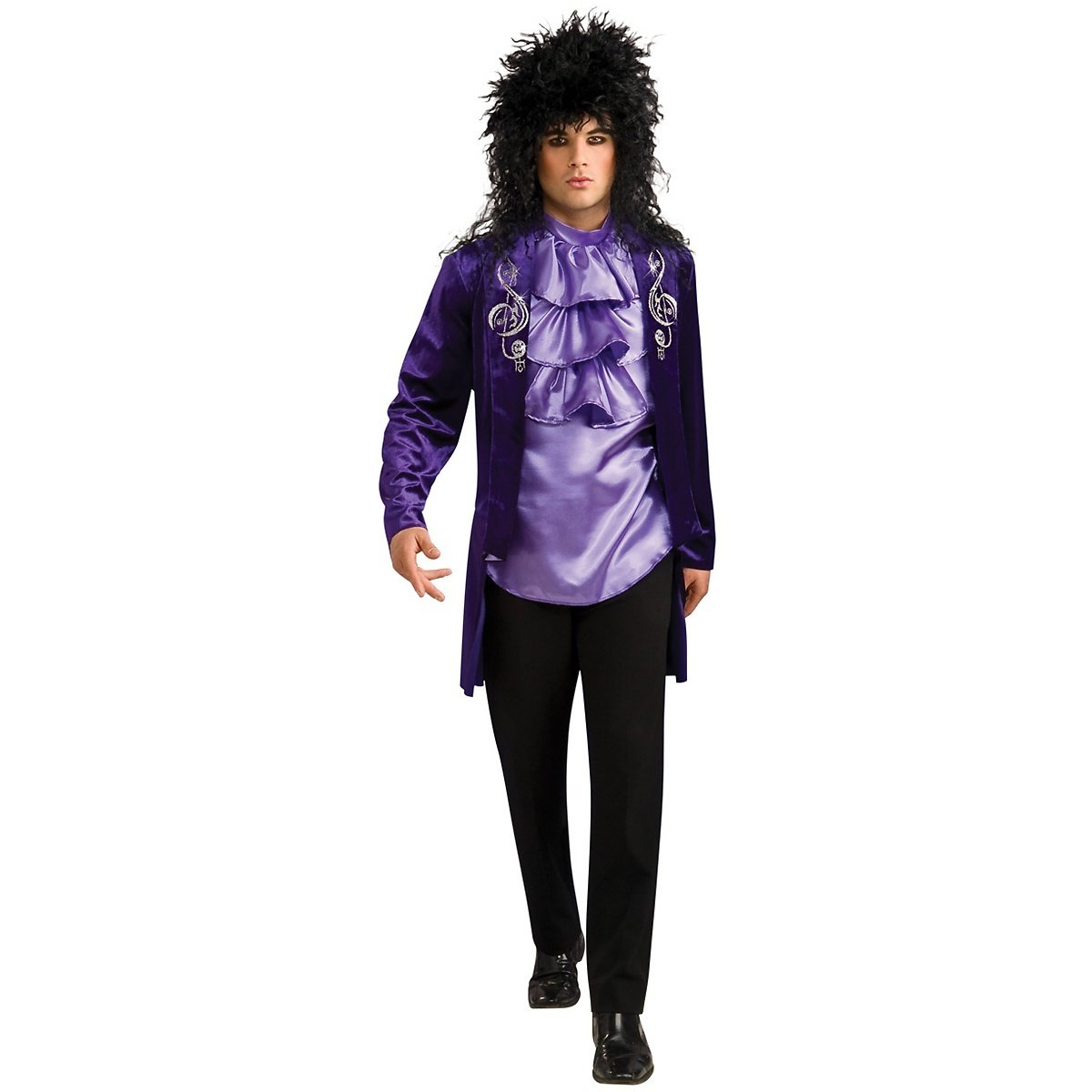 Amazon.com Rubies Glam Rock Star 70s 80s Mens Prince Halloween Costume Clothing  sc 1 st  Amazon.com & Amazon.com: Rubies Glam Rock Star 70s 80s Mens Prince Halloween ...