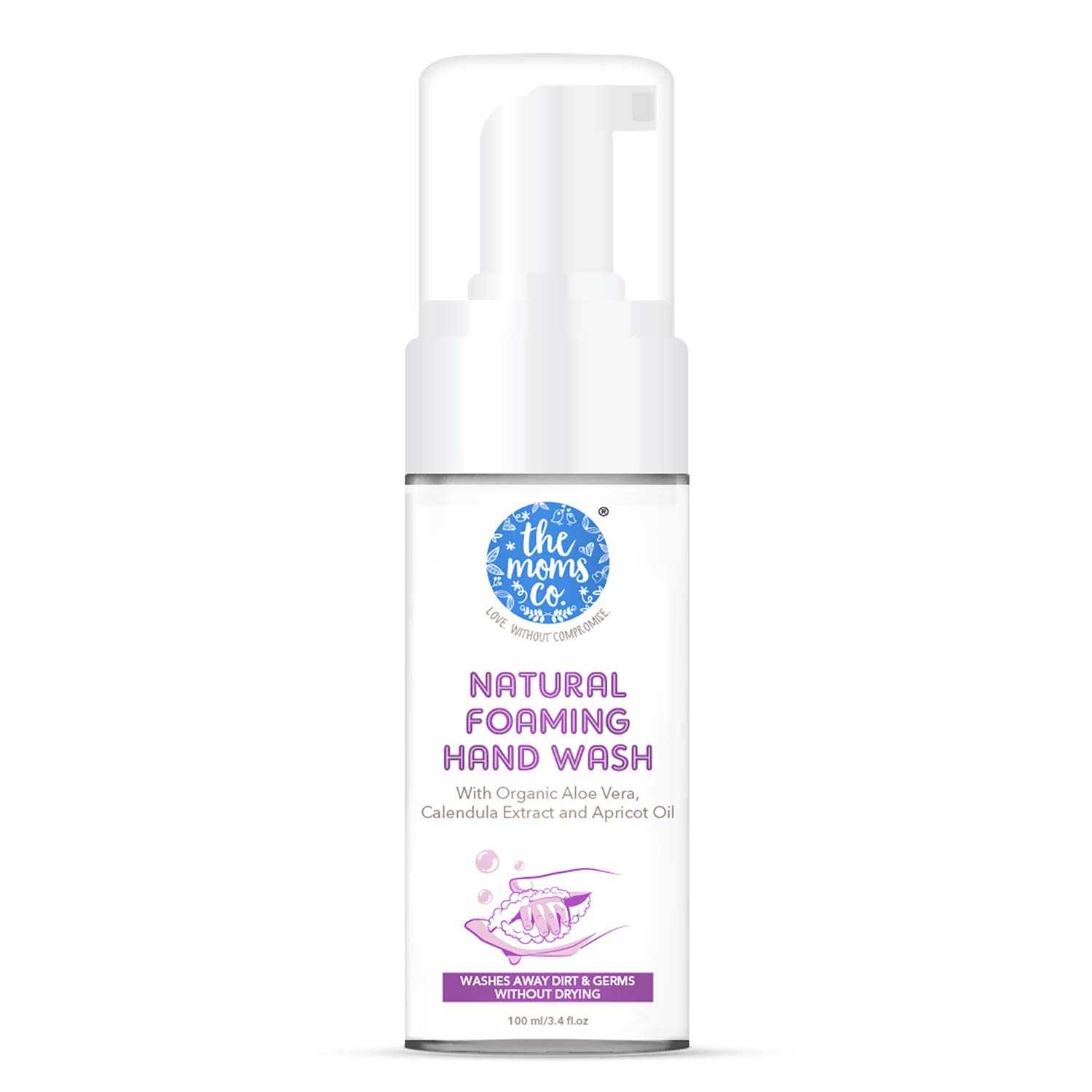 The Moms Co. Natural Foaming Hand Wash