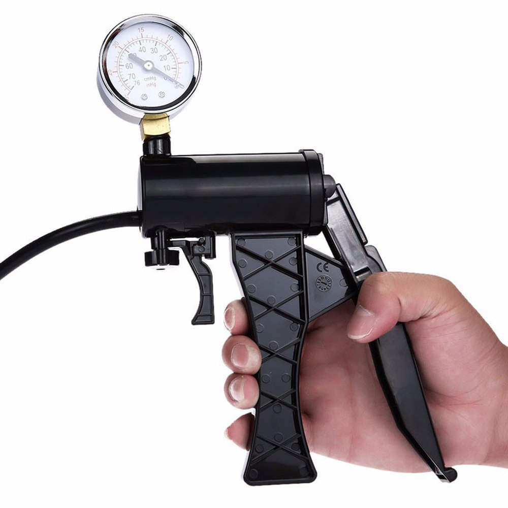 Male Hand Drive PeŇ-is P-űmp Enlarger Enlargement with Master Pressure Gauge Extension for Male Help PeŇ-is Extender by KEVINCC (Image #2)