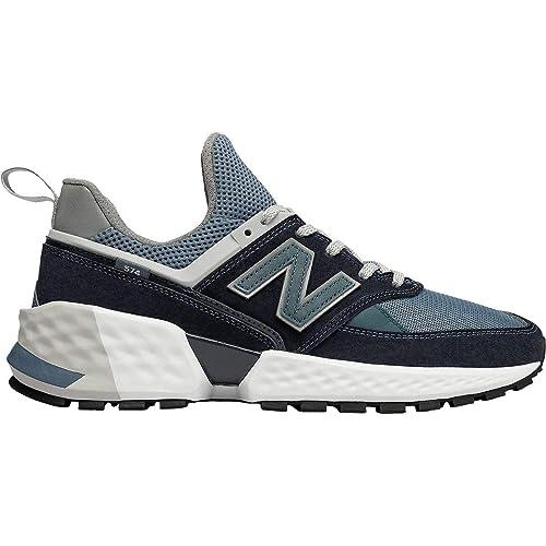 New Balance 574 Sport Lifestyle Zapatillas Hombre Azul 43: Amazon.es: Zapatos y complementos