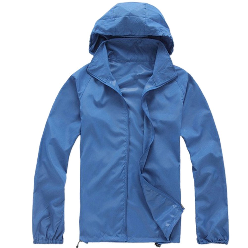 Royal blueee XXXLarge LANBAOSI Women's Lightweight Jacket UV Predect+Quick Dry Windproof Skin Coat