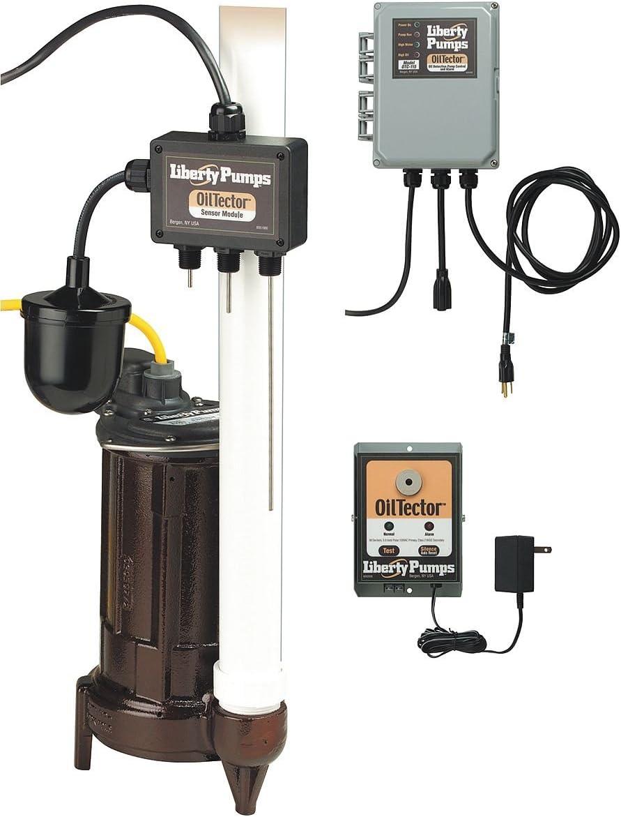 1//2 HP 1-1//2 Elevator Sump Pump 115V Sensor