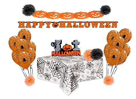 P D decorazioni festa Halloween addobbi party compleanno palloncini  polistirolo 175d59fd0a45