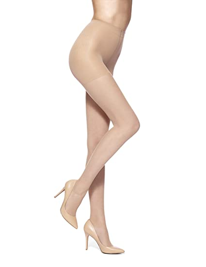 e1927bdf85853 No Nonsense Women's Control Top Reinforced Toe Pantyhose at Amazon Women's  Clothing store: