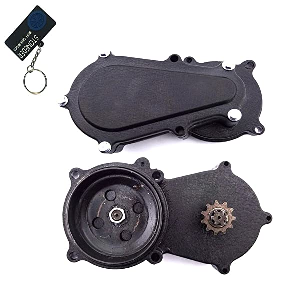 stoneder T8 F 11 dientes doble cadena embrague Gear Caja de tambor para 47 cc 49 cc 2 tiempos motor chino Minimoto moto Dirt Bike: Amazon.es: Coche y moto
