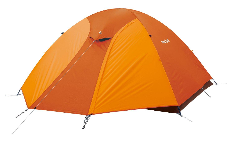 モンベル(mont-bell) テント クロノスドーム4型(3~4人用)ゴールデンオレンジ 1122492-GDOG