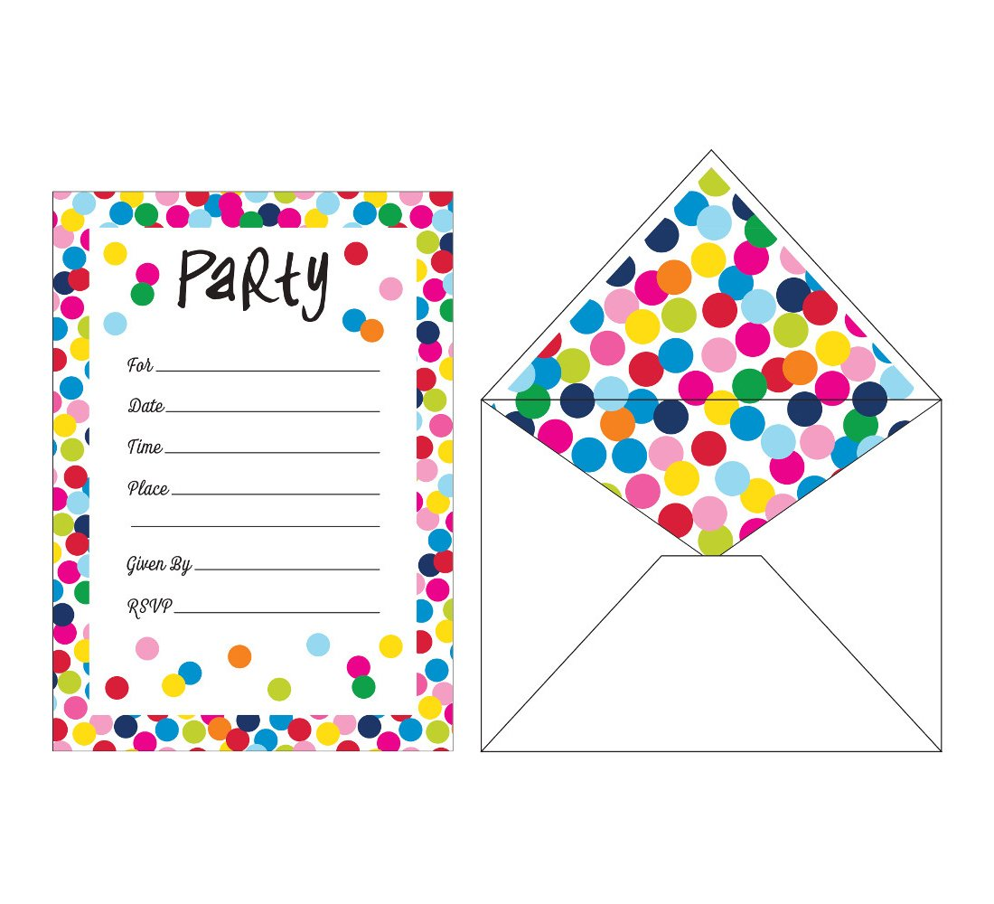 Creative Converting Party Supplies, Multicolor
