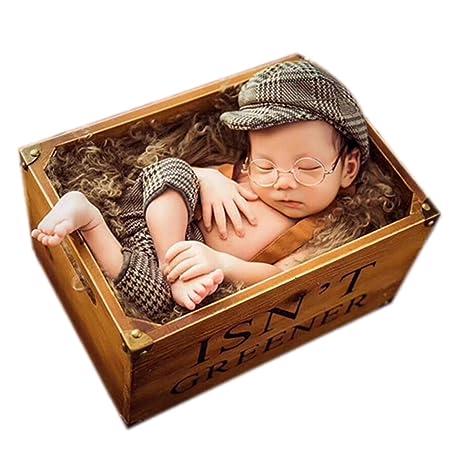Accesorios de disfraz para bebé recién nacido con boina: Amazon.es: Bebé