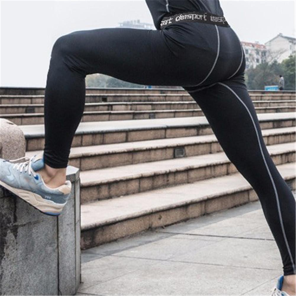 Mens tight fitness pants Collants de basketball de sport pantalons de leggings de sport ex/écutant des pantalons de compression /élastique de remise en forme Pantalons de gymnastique de gymnastique de