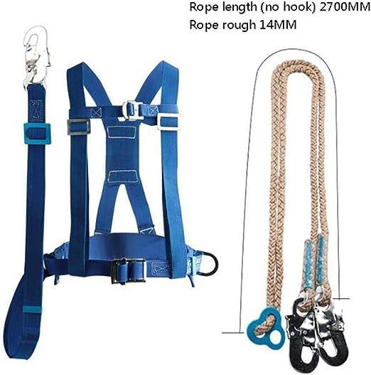 Kylinlkj Arnés de Seguridad de Cuerpo Completo Cinturones de arnés ...