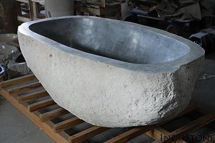 Vasca Da Bagno Piccola Ceramica : Pietra naturale vasca river stone pietra naturale vasca da bagno