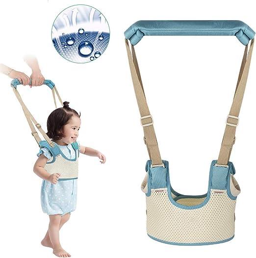 HBIAO Arnés de bebé para Caminar, caminador de Mano Ajustable para ...