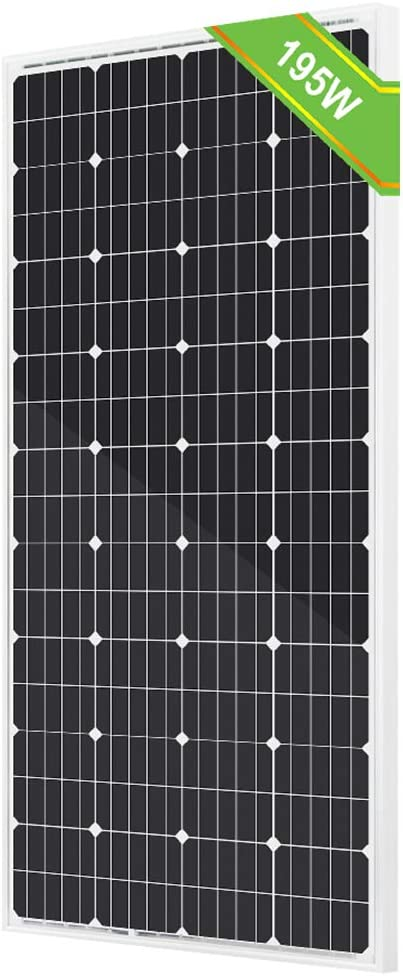 Eco-Worthy 195 Watt Solar Panel