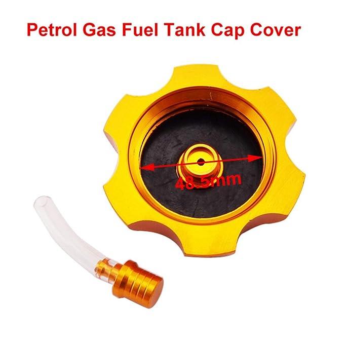 XLJOY Aluminum Gas Fuel Tank Cap Cover For 110cc 125cc 140cc 150cc 160cc CRF50 SSR Pit Dirt Bike
