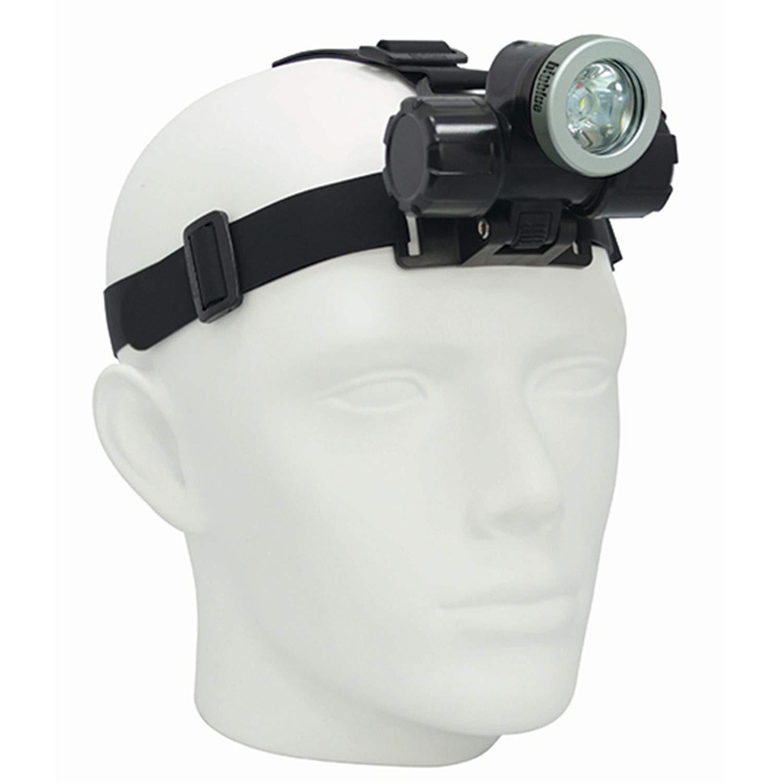Bigblue 1000 Lumens Narrow Beam LED Head Lamp Scuba Dive Light
