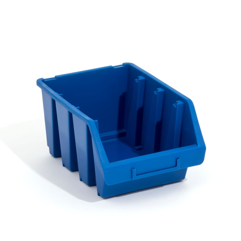 Lot de 10 boites de rangement bacs a bec en bleu ERGO-Box taille 3 Patrol