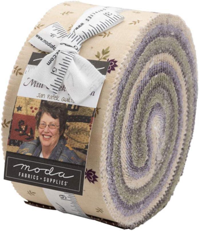 Jan Patek Mill Creek Garden Jelly Roll 40 2.5-inch Strips Moda Fabrics 2240JR