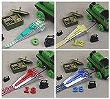 Naovio 4 Assorted Size Fabric Bias Tape Maker Kit