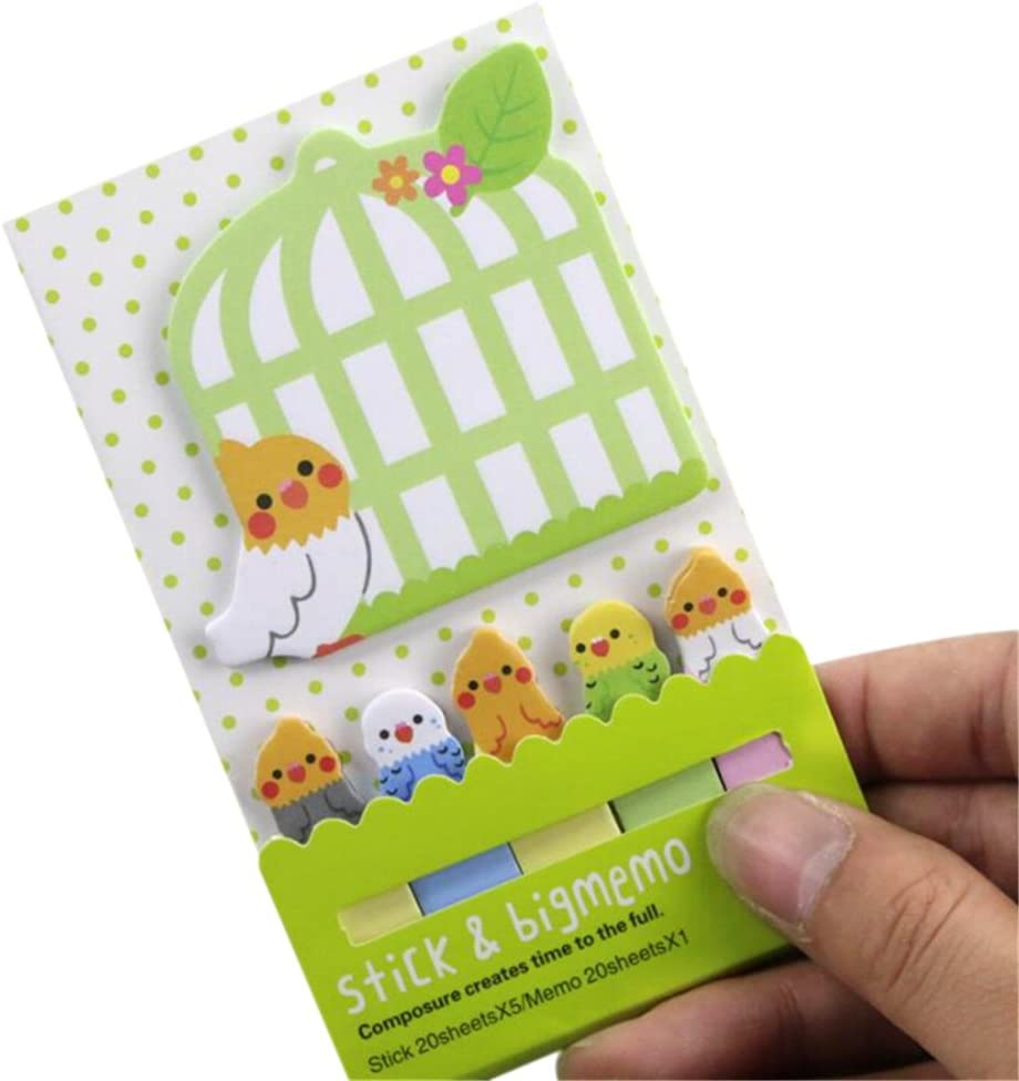 Cartoon Hello Kitty Memo Sticky Note Pad Index Self Adhesive label bookmarks