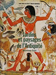Jardins et paysages de l'Antiquité : Mésopotamie et Egypte par Aude Gros de Beler