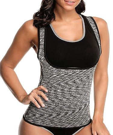 Amazon.com: ZMZ - Camiseta de adelgazamiento para mujer ...