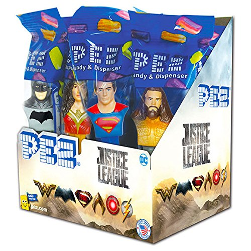 (Pez DC Comics Justice League Candy Dispensers (Pack of)