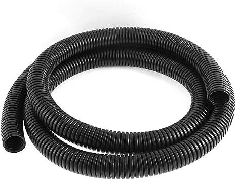 5 metres 8mm SLIT  Polypropylene Conduit Sleeving Pipe Black
